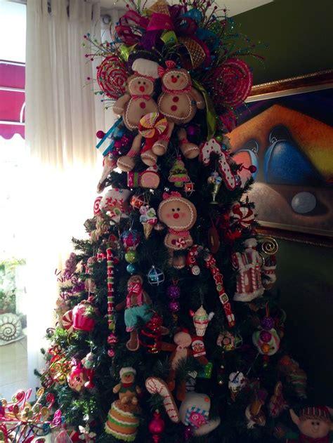 árbol de navidad con dulces arbol de navidad con temas de mu 241 ecos de gengibre y dulces mu 241 ecos de jengibre