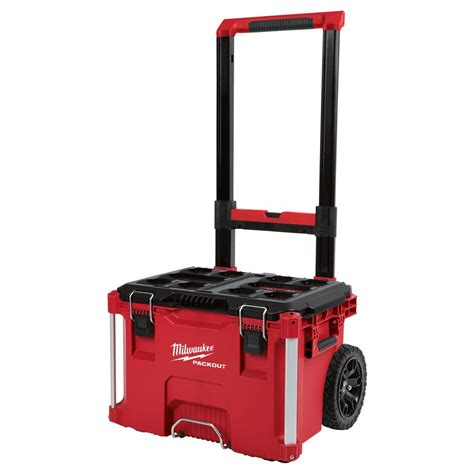 home depot lawn furniture milwaukee packout 22 in rolling tool box 48 22 8426 the home depot