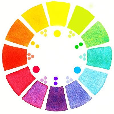 mara mattia art lesson 9 how to paint a watercolor color wheel continued