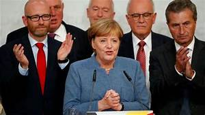 German Chancellor Angela Merkel wins fourth term with ...