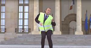 La Vid U00e9o Hallucinante De Macron En Gilet Jaune Qui Danse