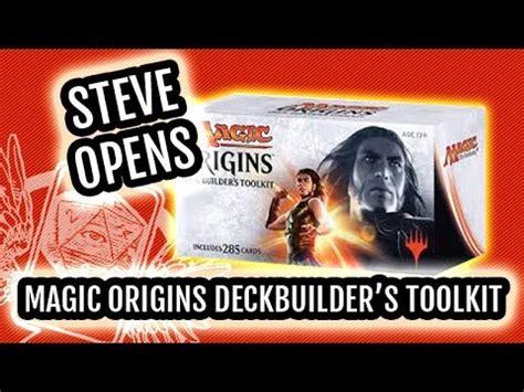 magic the gathering origins ori deck builder s toolkit