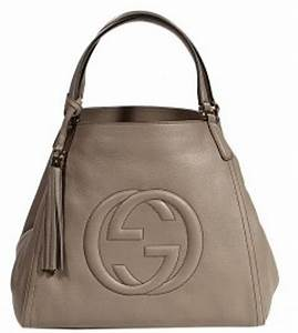 Gucci Soho Leather Gg Small Shopping Bag in Beige (black ...