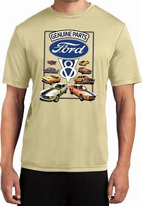Ford Mustang T-shirt V8 Collection Moisture Wicking Tee   eBay