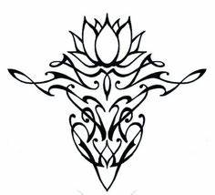 Simple Lotus Flower Drawing - ClipArt Best