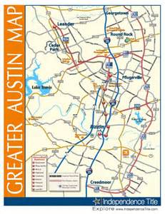 Greater Austin Area Map