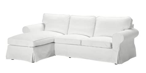 Ektorp Loveseat And Chaise, Blekinge White #ikea #pintowin