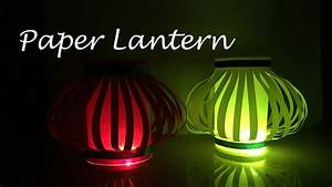 DIY: How to make a Paper Lantern | Diwali Decorations ...