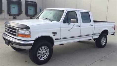 WWW.DIESEL DEALS.COM IMMACULATE 1996 FORD F250 CREW SHORT