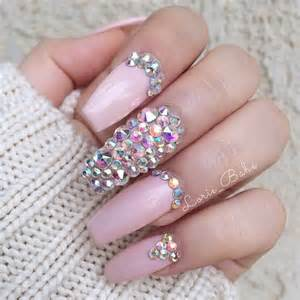 Images about beauty nails rhinestones on
