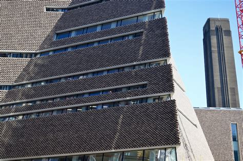 tate modern s extension revealed in all its brown lumpen londonist