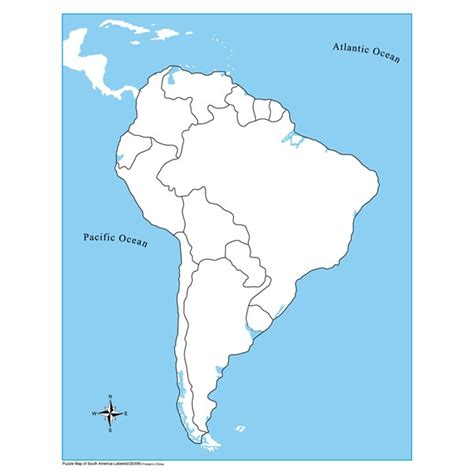 unlabeled south america control map kidadvancecom