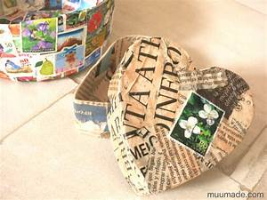 The Little Prince Designs Heart Shaped Paper Mache Box With Lid Muumade