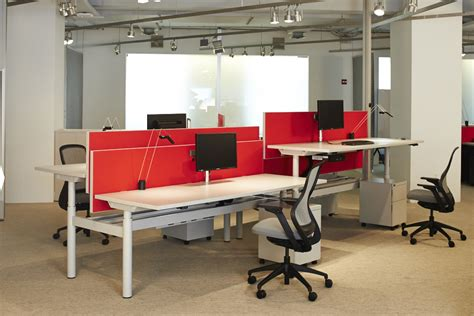 bureau knoll knoll at neocon 2014 open office workstations sit to