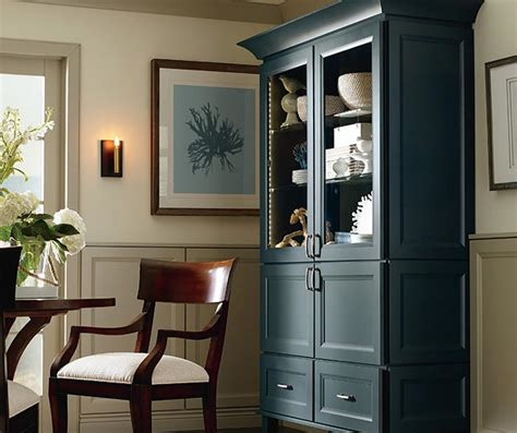 kitchen cabinets in dining room dining room storage cabinet kemper cabinetry 8070