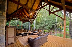 Timber Ceiling Beams by Timber Frame Porches