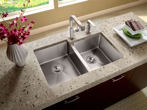how to install an undermount kitchen sink advantages of installing an undermount sink hometone 9425