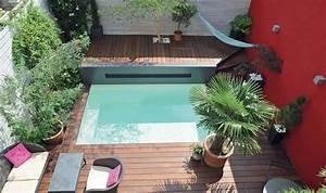les 25 meilleures idees de la categorie liner piscine sur With piscine avec liner gris clair 6 mini piscine enterree urbaine petite taille caron
