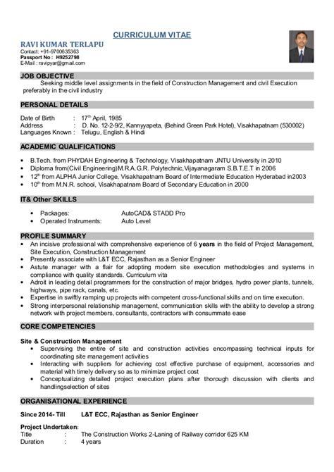 civil engineering resume templatedosecom