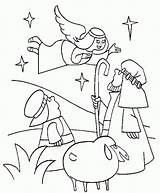 Coloring Birth Angels Jesus Pages Angel Christmas Printable Colouring Bing Christian Popular Shocked sketch template