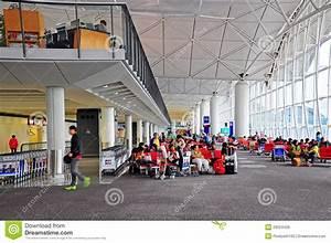 Hong Kong International Airport Boarding Gate Editorial ...
