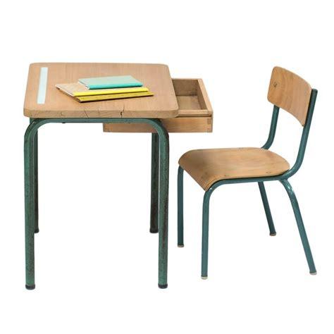 bureau et chaise bureau et chaise d 39 école vintage quot anatole quot