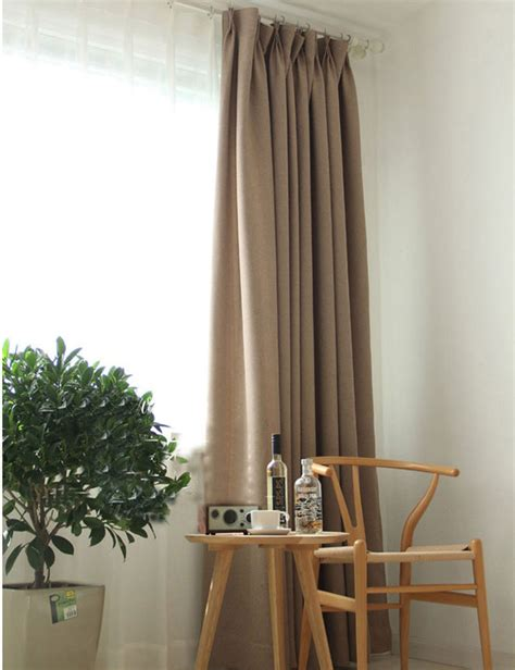 aliexpress buy solid color blackout curtains modern