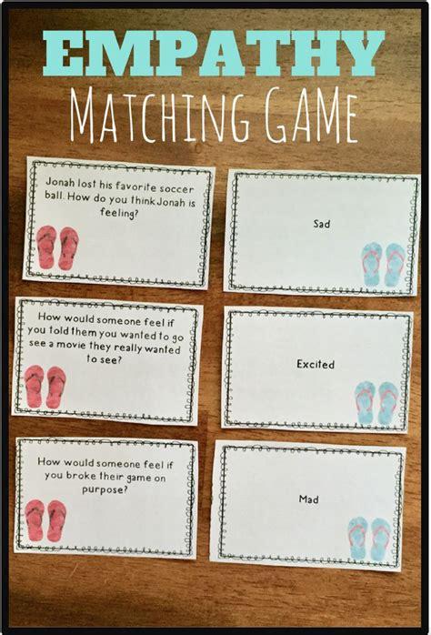 empathy matching game teaching empathy social skills