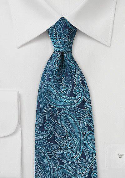 handmade paisley silk tie  teal blue bows  tiescom
