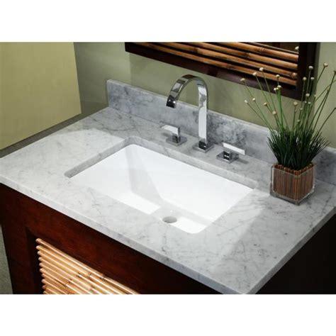 Bathroom Rectangular Sinks by Shop 20 3 4 Inch European Style Rectangular Shape
