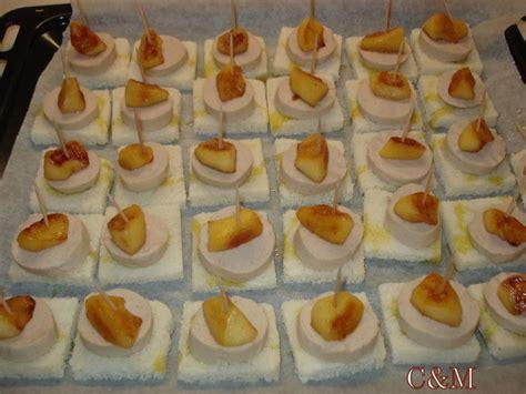 canapé d apéritif canapé boudin blanc pomme reinette à lire