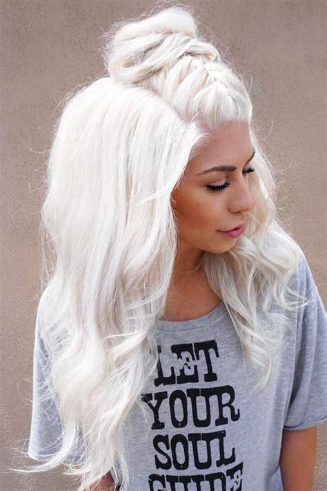 platinum blonde hair shades  highlights