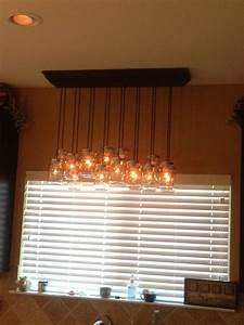 Courage To Change The Things        How To Make The Mason Jar Chandelier