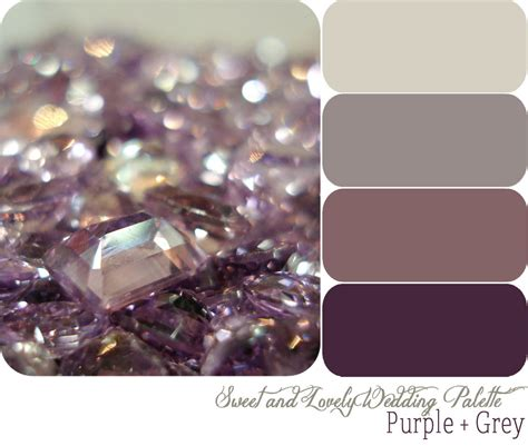 paint color grey purple purple and grey color palette for the guest room click