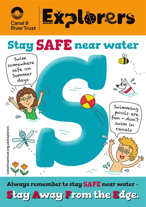 water safety posters poster template