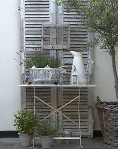 alles is brocante in de tuin stilleven voor louvredeuren With französischer balkon mit meister garten und landschaftsbau stellenangebote