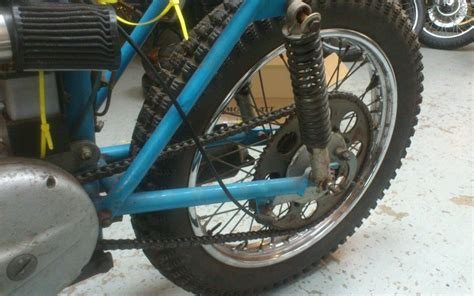 Bsa C15 Elstar 60-70's Grasstrack Grass Track Bike Racing