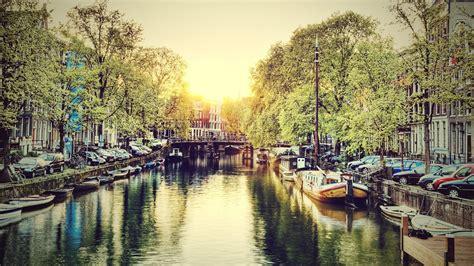 Amsterdam Canals Wallpaper 1920x1080 21015