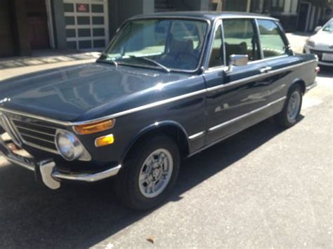 Bmw Usa Phone Number by Find Used 1972 Bmw 2002 Tii In San Francisco California