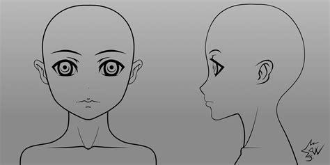 blender male template anime girl head model sheet 01 by johnnydwicked blender