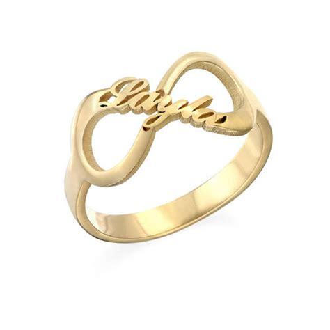 Infinity Name Ring With Gold Plating  Mynamenecklace. Faux Diamond Engagement Rings. Capel Wedding Rings. Heart Shaped Diamond Rings. Safari Engagement Rings. Single Lady Engagement Rings. Wisconsin Badgers Rings. Sdsu Rings. Celeberties Engagement Rings