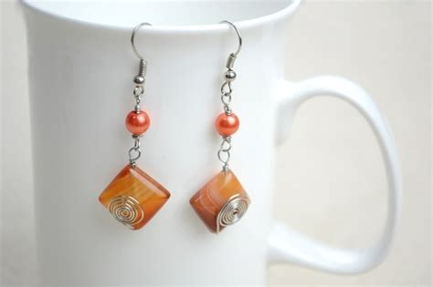 adorable handmade earrings   minutes