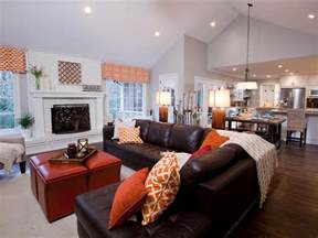 Open Concept Kitchen And Family Room by Open Concept Kitchen Unifies Kitchen With Other Parts Of