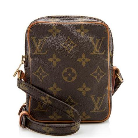 louis vuitton vintage monogram canvas danube mini shoulder bag