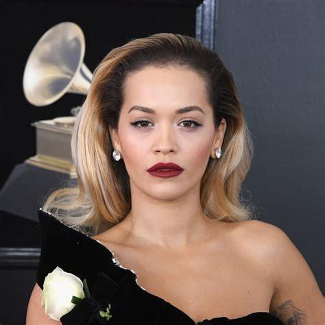 Rita Ora Hair And Makeup Grammys 2018 Popsugar Beauty Uk