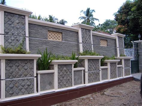 minimalist wall fence models design home