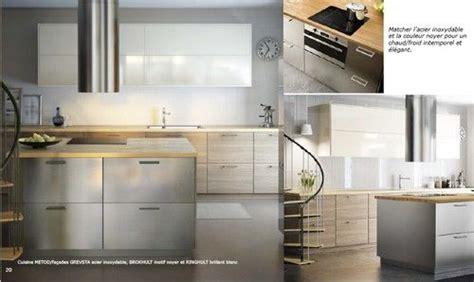 cuisine ikea ringhult cuisine metod facades grevsta acier inoxydable brokhult