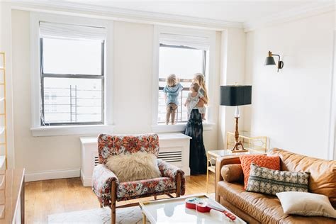 Apartement Living Room : Our New York City Living Room + Play Room Reveal