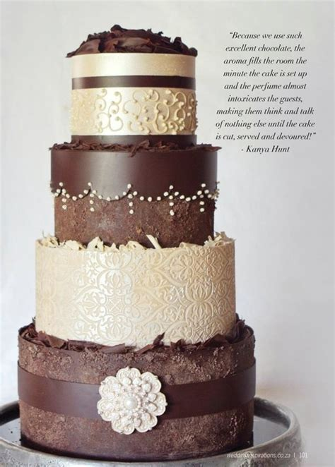 chocolate cakes wedding planer