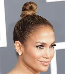 Bun Hairstyles with Hair